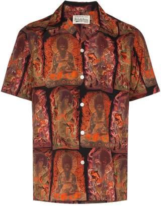 Wacko Maria printed Hawaiian shirt