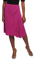 George Simonton Milky Knit Dot Skirt w/ Ruffle Detail
