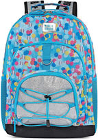 Asstd National Brand Blue Confetti Backpack