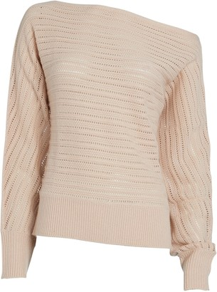 Intermix Louise Off-The-Shoulder Sweater