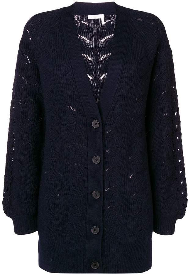 See by Chloe chunky knit cardigan