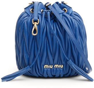 Miu Miu Matelasse Bucket Bag