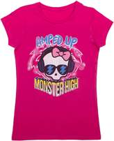 "Monster High Girls ""Amped Up"" Short Sleeve T-Shirt"