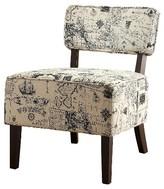 Homelegance Astor Armless Chair World Traveler