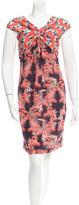 M Missoni Silk Palm Print Dress w/ Tags