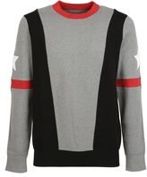 Givenchy Grey Band Sweater