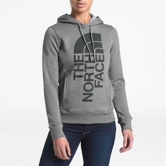 The North Face Trivert Patch Pullover Hoodie Sweatshirt - Tnf Medium Grey / Heather Asphalt