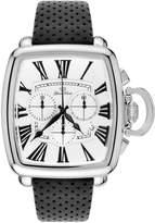 Glam Rock Men's Vintage Leather Band Steel Case Swiss Quartz Watch Gr28101f-N