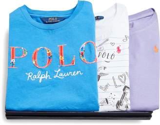 Ralph Lauren Graphic Tee 3-Piece Gift Set