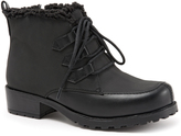 Trotters Black Quilt Snowflakes III Ankle Boot