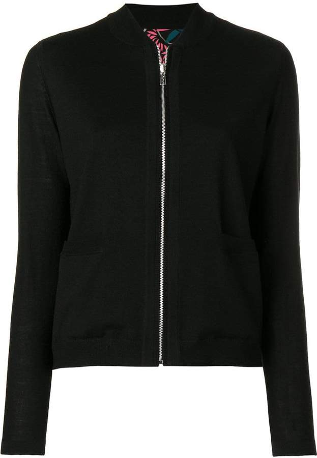 Paul Smith jersey bomber jacket