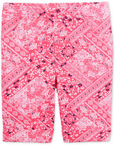 Epic Threads Mix and Match Bandana-Print Bermuda Shorts, Toddler & Little Girls (2T-6X), Only at Macy's