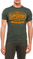 Superdry Flocked Japan Spirit Tee