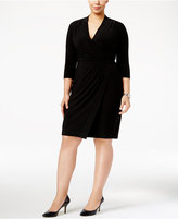 Anne Klein Plus Size Wrap Dress