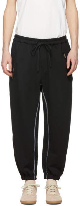 3.1 Phillip Lim Black Banana Lounge Pants