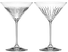 Thomas O'Brien for Reed & Barton New Vintage Martini Glass, Set of 2