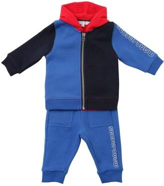 Little Marc Jacobs Cotton Blend Sweatshirt & Sweatpants