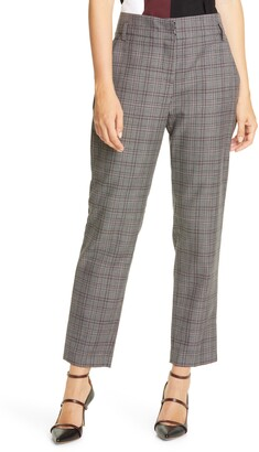 Judith & Charles Takashi Wool Plaid Pants
