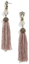 BaubleBar Women's Pirkko Tassel Drop Earrings