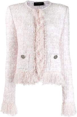 Balmain boucle knit jacket