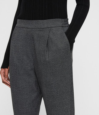 AllSaints Anneka Check Trousers