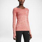 Nike Dry Knit Women's Long Sleeve Running Top