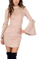 AX Paris Stone Bell-Sleeve Bodycon Dress