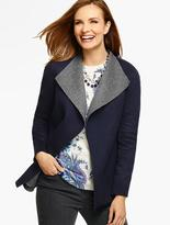 Talbots Double-Face Jacket-Bi-Color