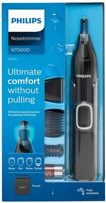 Philips Series 5000 Battery-Operated Nose, Ear & Eyebrow Trimmer NT5650/16