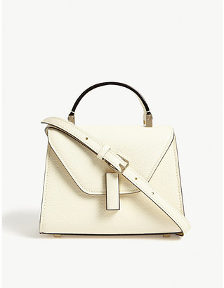 Valextra Iside leather tote
