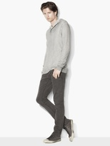 John Varvatos French Terry Pullover Hoodie