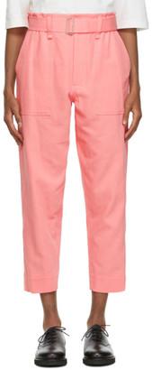 Issey Miyake Pink Washichino Trousers