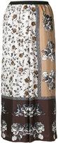 Antonio Marras wide leg flower trousers - women - Silk/Polyester/Acetate - 0