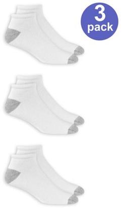 Athletic Works Men's Low Cut Socks 3 Pack