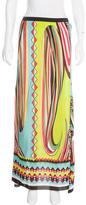 Alexis Silk Maxi Skirt