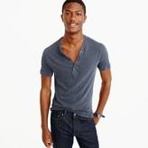 J.Crew Garment-dyed short-sleeve henley