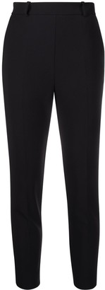 Elisabetta Franchi Cropped Fitted Trousers