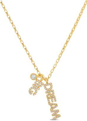 Lesa Michele Dream Big Pendant Necklace