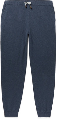 Loro Piana Tapered Loopback Stretch-Cotton Jersey Sweatpants