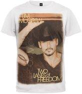 Tim McGraw Two Lanes Of Freedom 2013 Tour Soft T-Shirt