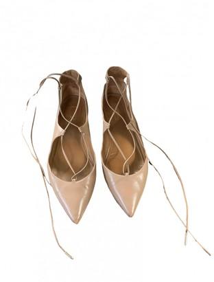Altuzarra Beige Leather Ballet flats