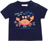 Jo-Jo JoJo Maman Bebe Crab Top (Toddler/Kid) - Navy-4-5