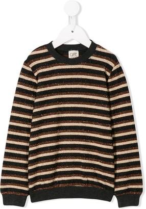 Caffe' D'orzo Striped Knit Jumper