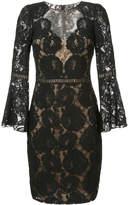 Tadashi Shoji layered floral lace dress
