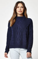 rhythm Yacht Knit Mock Neck Pullover Sweater
