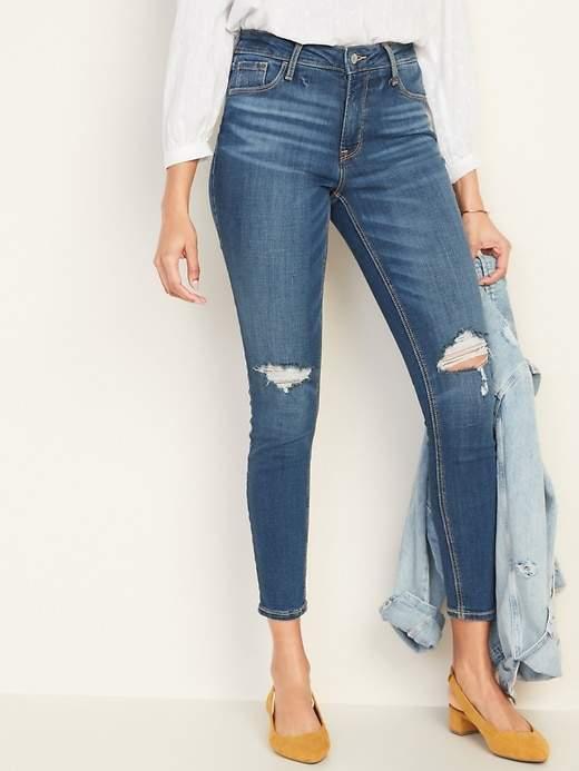 1fdfef4c249 Petite Distressed Jeans - ShopStyle