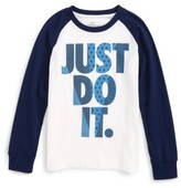 Nike Toddler Boy's Flyknit Just Do It Graphic T-Shirt