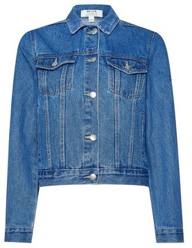 Dorothy Perkins Womens Dp Petite Indigo Denim Jacket
