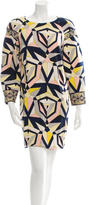 Emilio Pucci Wool Patterned Dress