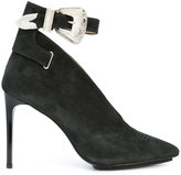 Toga Pulla buckle strap pumps
